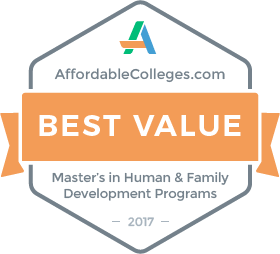 AffordableColleges.com Best Value for Master's in Human & Family Development Programs 2017