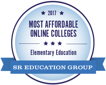 2017 Most Affordable Online Colleges Elementary Education from the SR Education Group